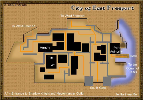 Area Maps of Everquest